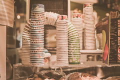 Gelatto in Rome (Kris McNeil) Tags: travel summer italy rome italian stack cups gelatto