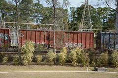 DTS_1760 (VIAL GRAFFITI) Tags: bench graffiti texas houston trains freighttrains freight graffititrain benching fr8trains fr8heaven dailybench