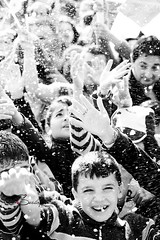 Joy (Sulafa) Tags: blackandwhite bw kids children happy joy happiness فرح اطفال أولاد سعادة اسودوأبيض
