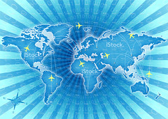 Vector world map and global airline (imagesstock) Tags: world china africa travel blue usa abstract southamerica japan illustration germany airplane design flying globe asia europe pattern technology traffic russia map earth space internet istockphoto australia tunnel communication business countries direction journey sphere transportation airline cartography planet backgrounds northamerica istock worldmap vacations vector compass cyberspace textured global coding computergraphic businesstravel binarycode computernetwork traveldestinations computerlanguage modeoftransport illustrationandpainting commercialairplane globalpositioningsystem theamericas globalbusiness peopletraveling globalcommunications airvehicle freighttransportation