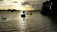 You Weren't Thinking of Going That Way? (Worthing Wanderer) Tags: winter sussex coast bosham december moody flood westsussex tide sunday chichesterharbour
