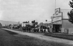 Clevedon Village Ca. 1915 (Manzmystery) Tags: street newzealand village tea main holliday holloway township lipton clevedon otau johnstonbros wairoasouth