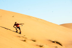 Dune Surfing - Wahiba Sands, Oman (mastahanky) Tags: desert dune surfing sands oman wahiba gopro