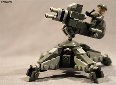 CTX-009 Infantry Defense Sentry (n7mereel) Tags: camera new infantry canon lens eos design march gun figure cannon instructions shooter technique defense rather sentry unimportant n7 mereel 60d n7mereel ctx009