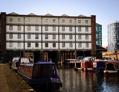 Victoria Quays Sheffield (Jason Harley......) Tags: 2 building d50 canal nikon south sheffield yorkshire victoria grade basin warehouse quays navigation listed barges straddle 1895 1898