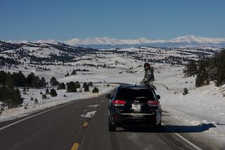 Driving to Breckenridge