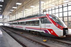 Cadiz, commuter train (Martyn Hird) Tags: spain trains seville andalucia railwaystation cadiz railways jerez espania renfe