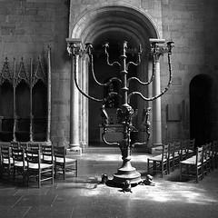 L1008288_v1 (Sigfrid Lundberg) Tags: cathedral vault romanesque leadedwindow kyrka menorah valv carlzeiss zm katedral lundcathedral lundsdomkyrka romansk biogont2825 25mmf28zmbiogon
