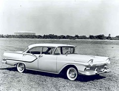 1957 Ford Fairlane Club Sedan (Railroad Jack) Tags: