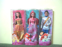 *-* (Uniimaginative) Tags: ariel boneco doll bonecas princess disney erick e prncipe boneca princesa bela pequena fera sereia princesas