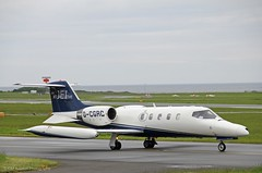 Jet Executive Learjet 35A D-CGRC (IOM Aviation Photography) Tags: jet executive learjet 35a dcgrc