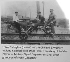 Franklin Pk. Railroad Haze 2015 (Chicago Rail Head) Tags: railroad advent il carnaval annual locomotives ondisplay franklinpark musicgroups velocipederailhandcar cabtours locomotivecabtours