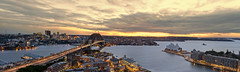 Four Seasons In One Day (EmeraldImaging) Tags: city seascape clouds sunrise sydney australia nsw coathanger sydneyharbour sydneyoperahouse sydneyharbourbridge thecoathanger fourseasonshotelsydney