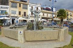 """Piazza Mondello: """"Fontana della Sirenetta"""" di Nino Geraci (costagar51) Tags: mondello palermo siciia sicily italia italy arte storia mare anticando"""