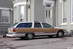 Vintage Buick Roadmaster (Canadian Pacific) Tags: toronto ontario canada canadian city aimg6325 buick station wagon estate car auto automobile roadmaster gm generalmotors american fullsize