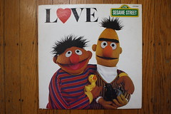 Love (Sesame Street Records 1980) (Donald Deveau) Tags: sesamestreet tvshow record lp muppets ernie bert love