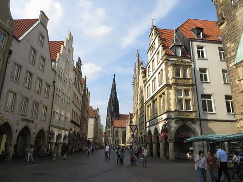 Prinzipalmarkt,  Münster, Rhénanie-du-Nord-Westphalie, Allemagne