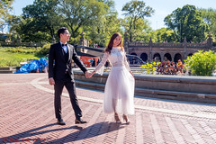 Another Walk Through The Park (ViewFromTheStreet) Tags: allrightsreserved angeltunnel bethesda bethesdaterrace bigapple blick blickcalle blickcallevfts bride calle centralpark copyright2016 copyright2017 groom jlglift manhattan nyc newyork newyorkcity park photography stphotographia streetphotography terrace viewfromthestreet amazing beautifulcouple beauty brick candid classic fountain greenery heels love lovecouple midriff opentoe pretty sheer sky smile smiling street tree tux tuxedo vftsviewfromthestreet walk waterlilies wedding weddingdress ©blickcallevfts ©copyright2017blickcalle