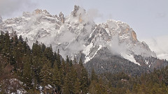 Canali valley (Pala group - Dolomites) (ab.130722jvkz) Tags: italy trentino alps easternalps dolomites palagroup winter mountains snowfall valleys