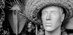 """I Wanted to be a Lumberjack (Jay:Dee) Tags: """"topw2017rs"""" topw toronto photo walks gerrard street mannequin store front window hat"""