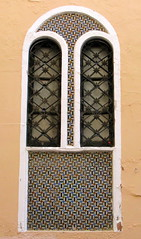 Ironwork and tile: A window in Seville, Spain (Spencer Means) Tags: dwwg seville sevilla window ventana tile mosaic iron grille guard ironwork spain spagna españa espagne andalucía andalusia
