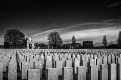 Tyne cot cemetery (K Heymans) Tags: cemetery ww2 ww1 soldiers blackwhite rip war 35mm tynecot