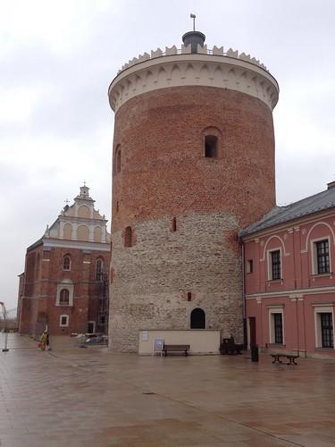 Stołp i kaplica Trójcy Świętej na zamku w Lublinie