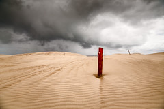 Red post #2 (RWYoung Images) Tags: rwyoung canon 5d3 southaustralia red post sand dune park beach coast