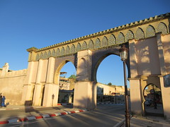 Bab Moulay Ismail, gate in Meknes, Morocco (Paul McClure DC) Tags: meknes meknès morocco almaghrib jan2017 architecture historic