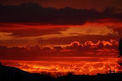 Sunset 3 5 2017 #04 (Az Skies Photography) Tags: sun set sunset dusk twilight nightfall cloud clouds sky skyline skyscape red orange salmon golden gold black rio rico arizona az riorico rioricoaz arizonasky arizonaskyline arizonaskyscape arizonasunset canon eos rebel t2i canoneosrebelt2i eosrebelt2i march 5 2017 march52017 3517 352017
