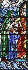Works of Mercy: I was a stranger and ye took me in (Douglas Strachan, 1944) (Simon_K) Tags: allsaints jesuslane cambridge cambs eastanglia church 19thcentury victorian nikon d5300
