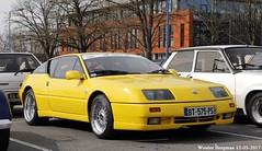 Alpine GTA V6 Le Mans 1989 (XBXG) Tags: bt575ps alpine gta v6 le mans 1989 renault coupé coupe jaune yellow 30ème salon des belles champenoises époque reims marne 51 grand est grandest champagne ardennes france frankrijk vintage old classic french car auto automobile voiture ancienne française vehicle outdoor