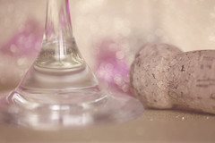 :: celebration :: (mjcollins photography) Tags: wine glass stem cork bokeh party celebration macro table top fun monday happy 10 years