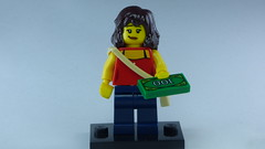 Brick Yourself Bespoke Custom Lego Figure I f You Got the Money Honey...