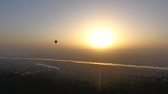 Sunrise Above Luxor (Rckr88) Tags: sunrise above luxor sunriseaboveluxor egypt africa travel travelling sun sky river rivers water nile nileriver thenileriver hot air baloons baloon balooning hotairbaloons