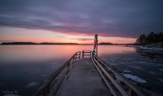 Lauttasaari Sunset