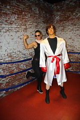 Sylvester Stallone. Hollywood Wax Museum (Museu de Cera), Myrtle Beach, SC. Feb/2017 (EBoechat) Tags: hollywoodwaxmuseummuseudecera myrtlebeach scfeb2017artistaskinghong sylvester stallone