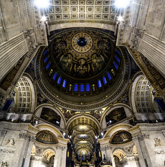St Pauls Icon (JH Images.co.uk) Tags: london st pauls cathedral hdr vetro vertorama inside church dome dri symmetry symmetric