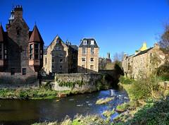 Dean Village, Edinburgh. (andrewmckie) Tags: deanvillage edinburgh waterofleith river outdoor