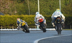 NW200 2013 Ballysally Roundabout (Eggy Boil) Tags: road wet evening roundabout link thursday damp superstock 2013 nw200 ballysally