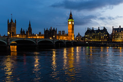 At the Thames (Spiegelpixel) Tags: uk england london thames architecture river architektur fluss westminsterbridge themse palaceofwestminster elizabethtower x100s