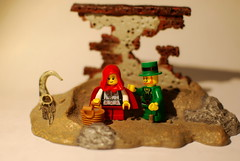 ...little red meets leprechaun... (p3knl) Tags: lego minifigures toyphotography