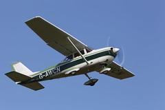 Reims Rocket Cessna FR172E G-AWCN (John Ambler) Tags: grass john airport 05 strip isleofwight rocket 27 reims isle runway cessna wight sandown ambler johnambler gawcn eghn fr172e