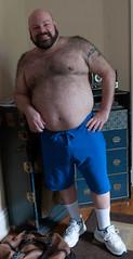 Gabe Shoot-CropWEB-0349 (Mike WMB) Tags: bear beard sneakers belly furr