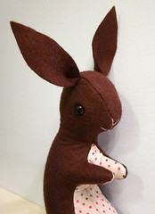 Bunny Softie Plush Toy 7 (sugar-cookie) Tags: brown cute rabbit bunny wool easter toy handmade chocolate craft plush softie vintagestyle