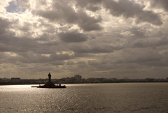 DSC04081 (stut) Tags: day cloudy buddha hyderabad andhrapradesh husseinsagar