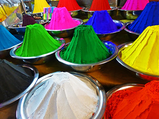 Mysore Market: paints