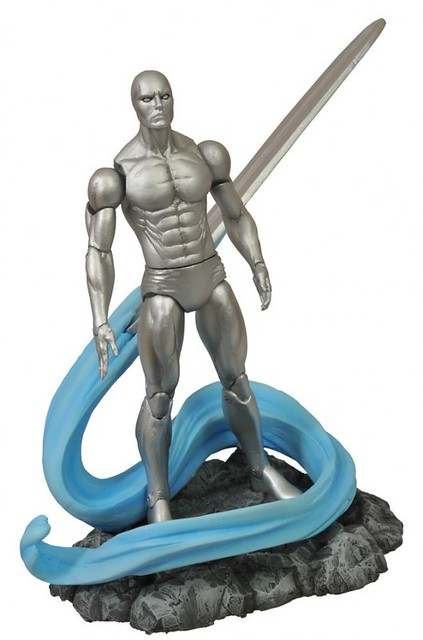 Marvel Select – 驚奇四超人 – 銀色衝浪手 Silver Surfer