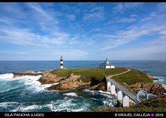 ISLA PANCHA (LUGO) (MIGUEL CALLEJA) Tags: lighthouse faro galicia lugo ribadeo islapancha