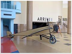 "Morane type H ""Roland Garros "" (Aerofossile2012) Tags: architecture airport terminal muse mae rolandgarros 1937 bourget lebourget labro morane aerogare moraneh"
